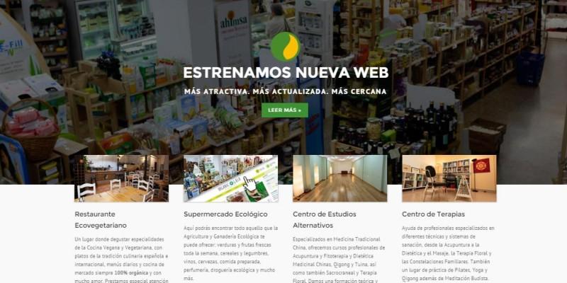Nueva web Centro Ecológico Gaia